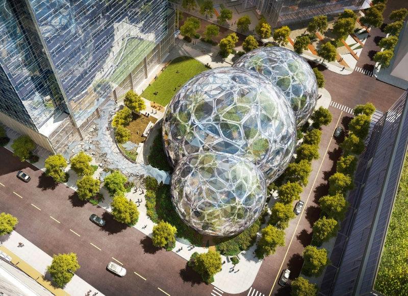 Сферите на Amazon в Сиатъл