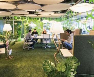 Природата идва в офиса