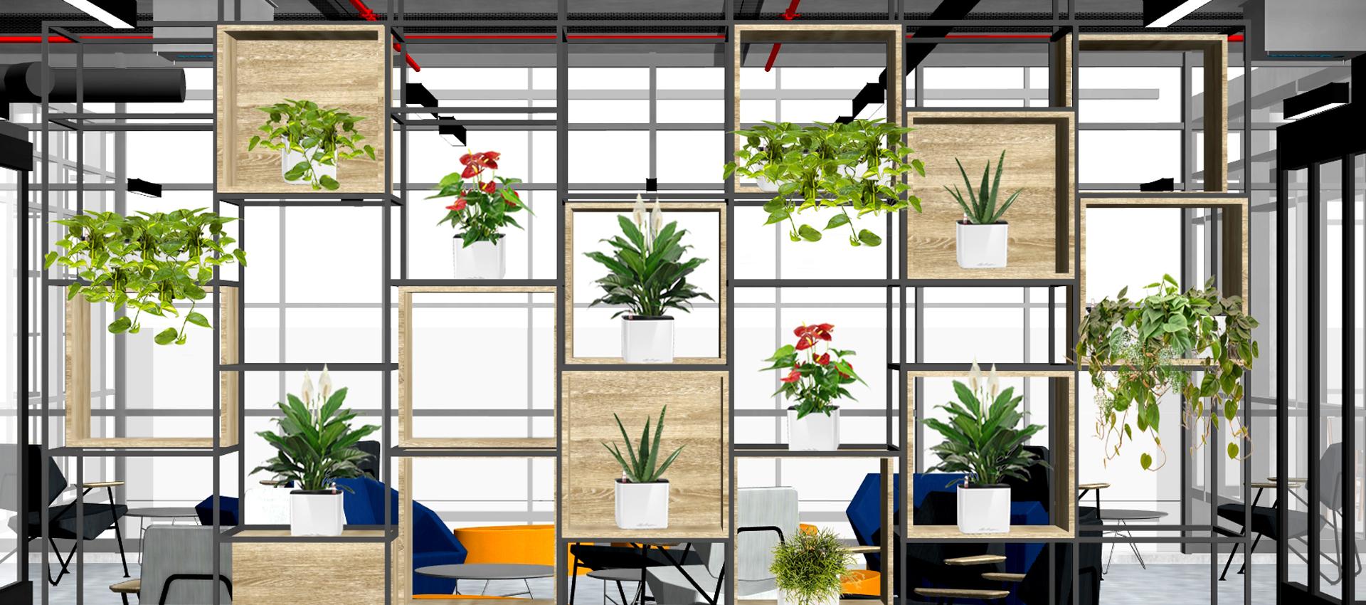 Лесни решения за вертикално озеленяване в интериора